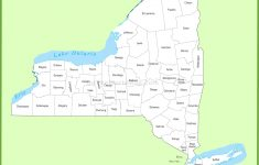 New York State Maps | Usa | Maps Of New York (Ny) – Road Map Of New York State Printable
