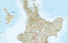 New Zealand Wall Maps Including North And South Island Maps – New Zealand South Island Map Printable