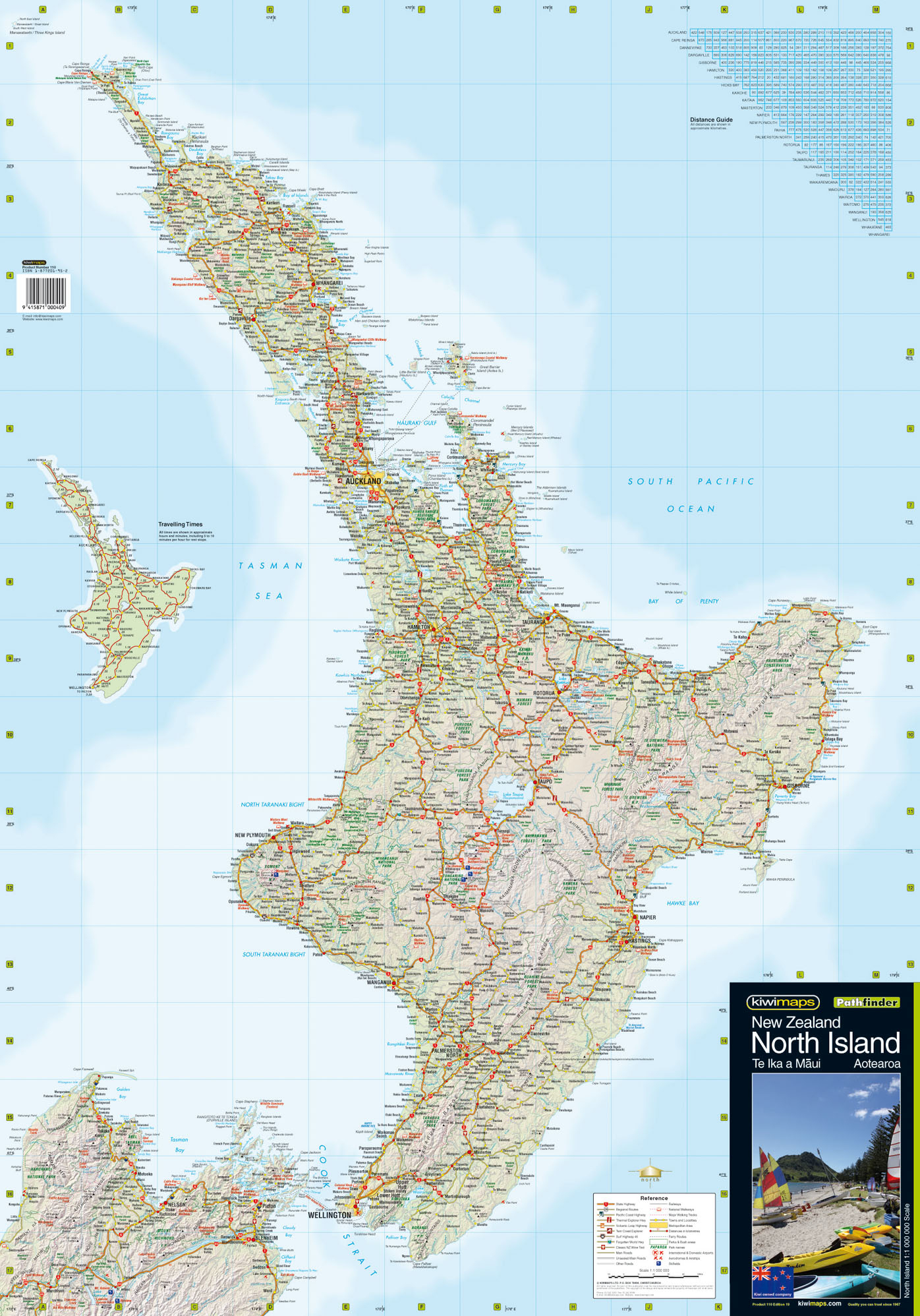 New Zealand Wall Maps Including North And South Island Maps - New Zealand South Island Map Printable