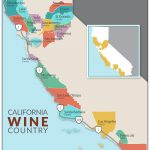 Newer Wine Country Map With Image California Wine Appellation Map   California Wine Appellation Map