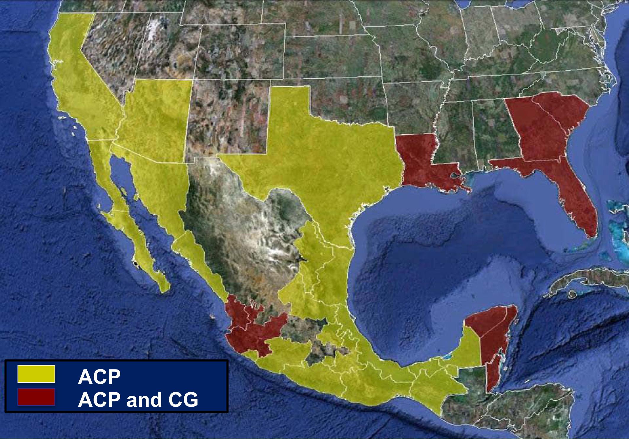 News & Information - Florida Citrus Mutual - Florida Citrus Greening Map