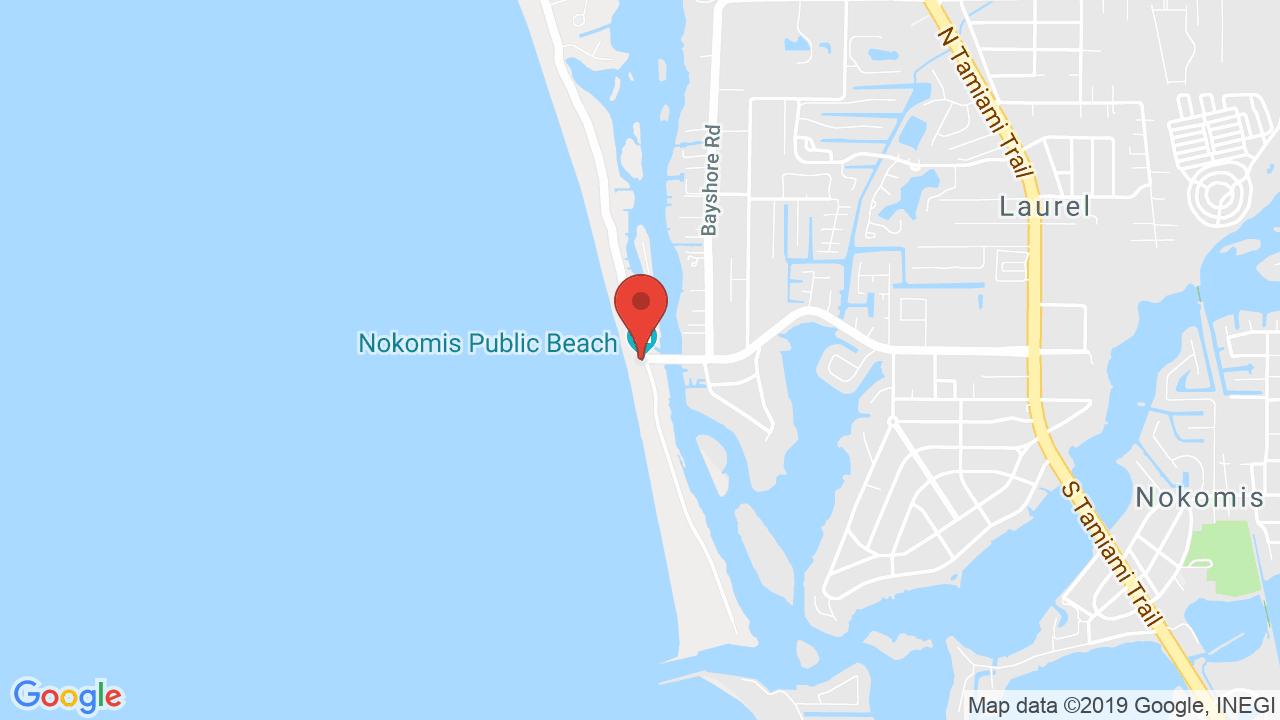 Nokomis Beach Pavilion - Shows, Tickets, Map, Directions - Nokomis Florida Map