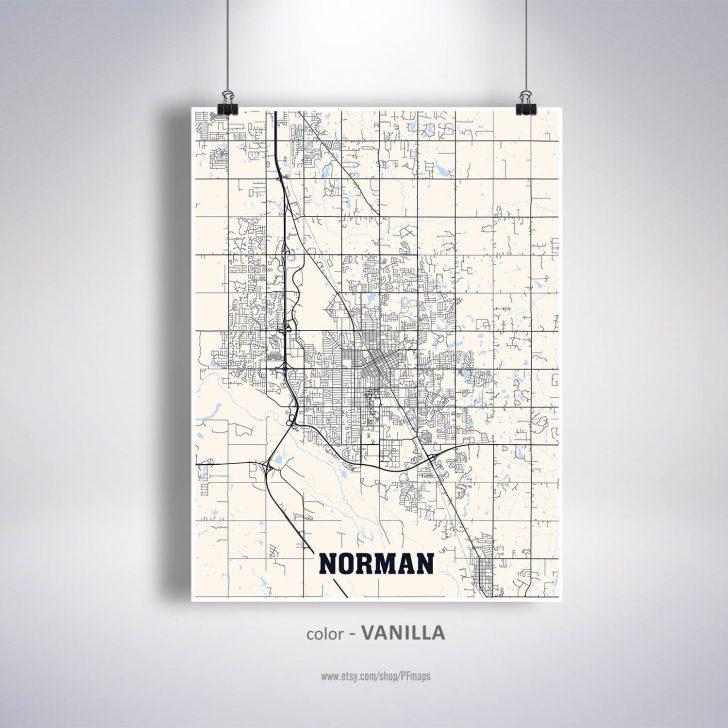 Printable Map Of Norman Ok