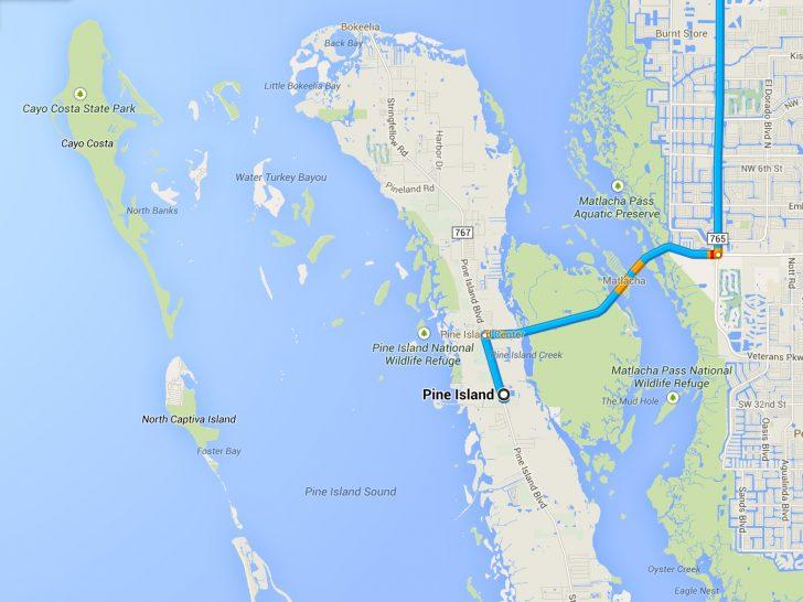 North Captiva Island Florida Map