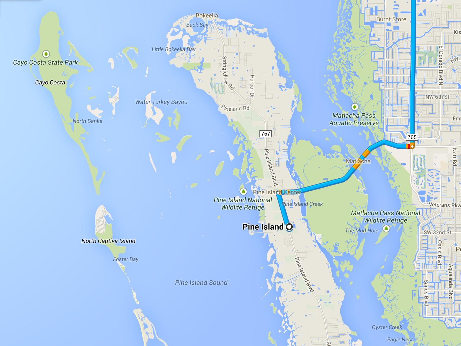 North Captiva Island   Annie & Taylor Vos - North Captiva Island Florida Map