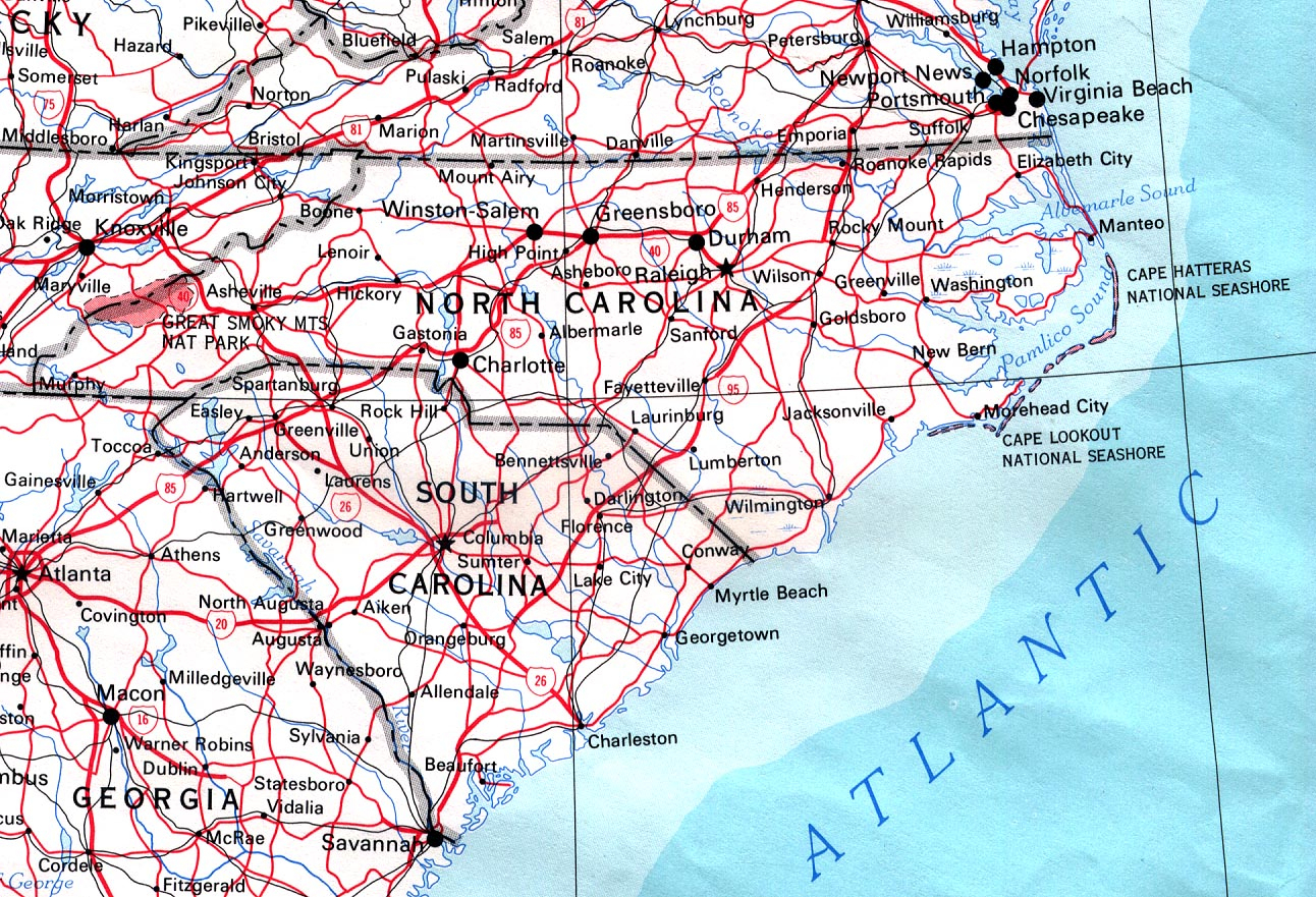 North Carolina Maps - Perry-Castañeda Map Collection - Ut Library Online - Printable Street Map Of Greenville Nc
