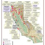 Northern California Wildfires Map Fresh Map Current California Fires   Map Of Current California Wildfires