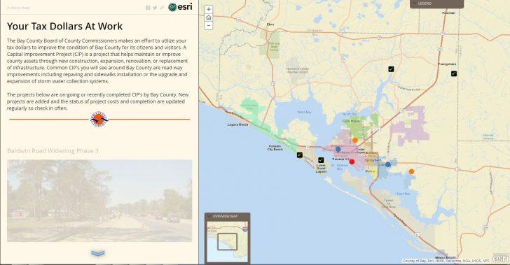 Bay County Florida Parcel Maps