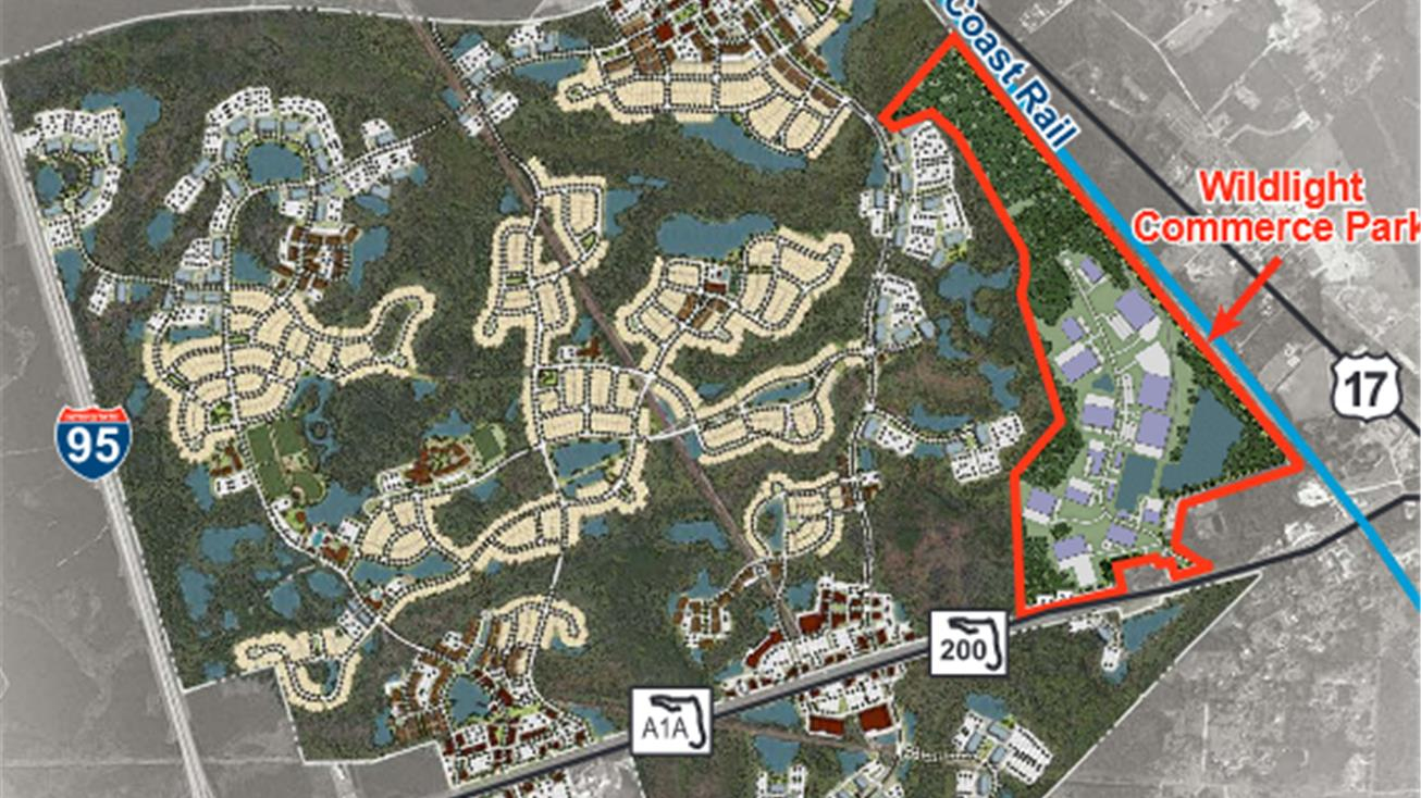 Nwq A1A @ Us Hwy 17, Yulee, Fl 32097 - Land For Sale - Wildlight - Yulee Florida Map