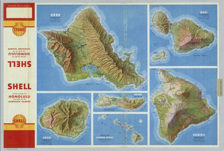Molokai Map Printable