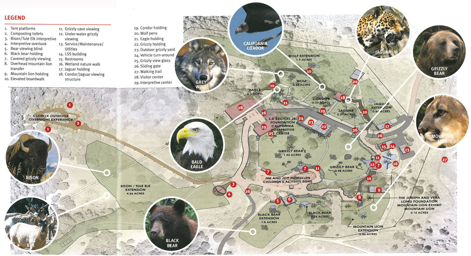Oakland Zoo California Trail - Dinocro - Oakland Zoo California Trail Map