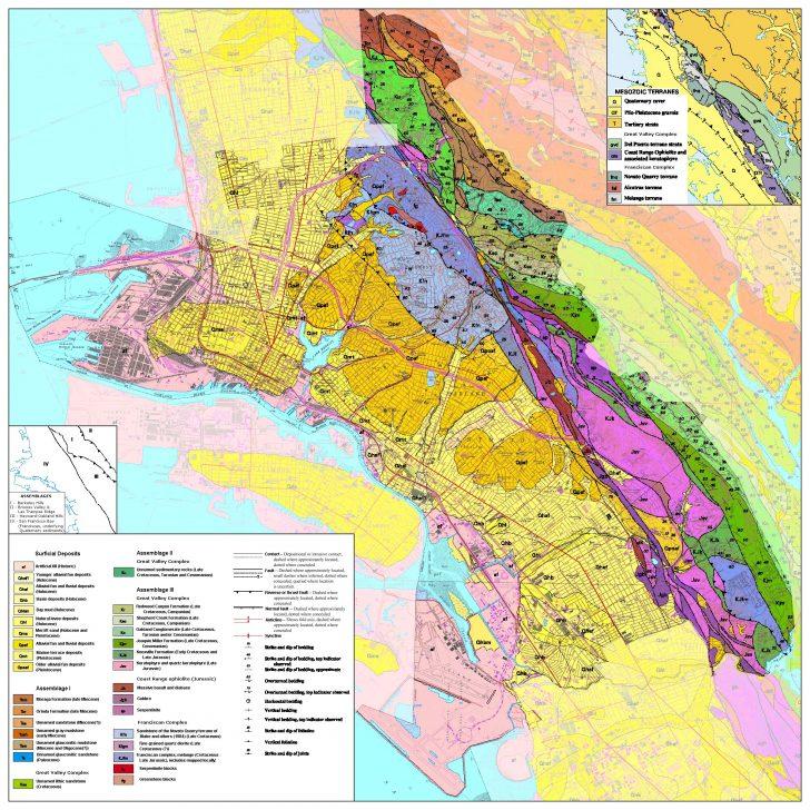Oakland California Map