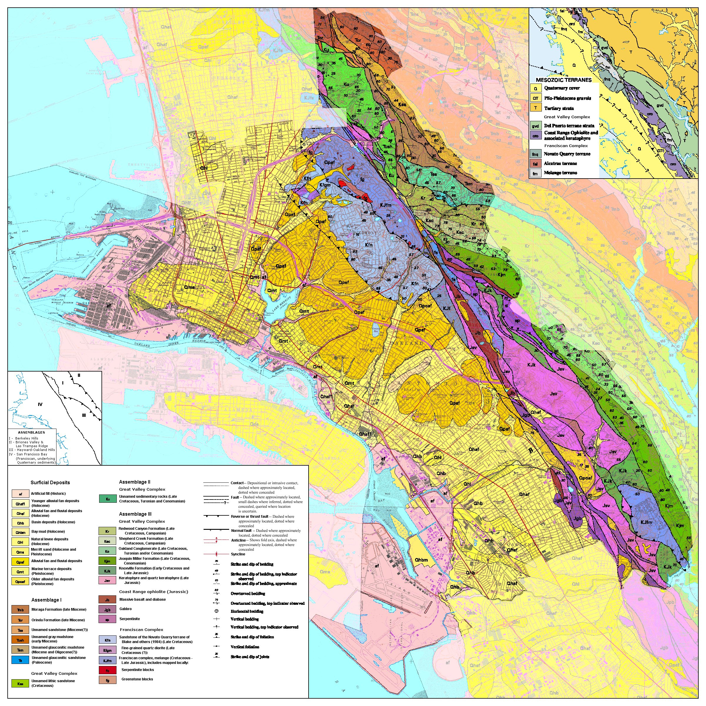 Oaklandgeomapfaded Withkey California State Map Where Is Oakland - Oakland California Map