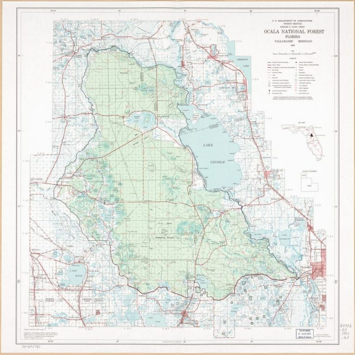 National Forests In Florida Map