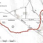 Ocean To Lake Hiking Trail   Florida Hiking Trails Map