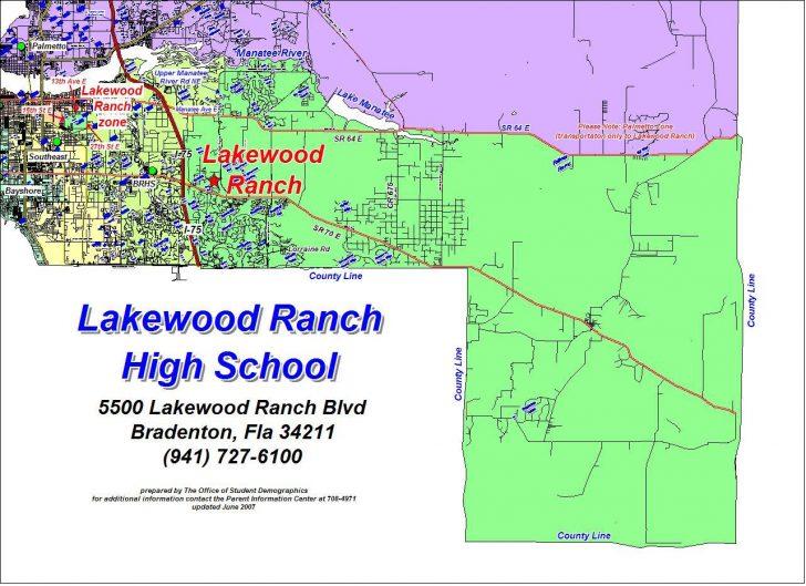 Lakewood Ranch Map Florida