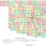 Oklahoma Printable Map   Printable Map Of Norman Ok