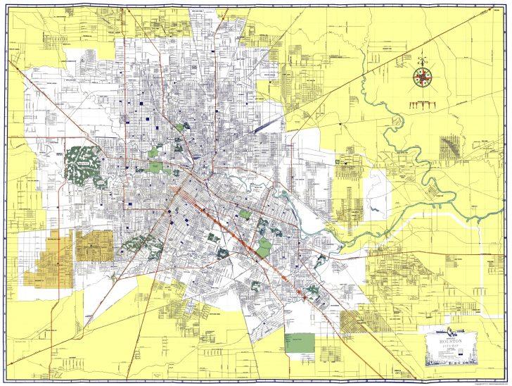 Map To Houston Texas
