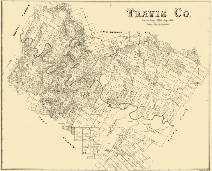 Antique Texas Map Reproductions