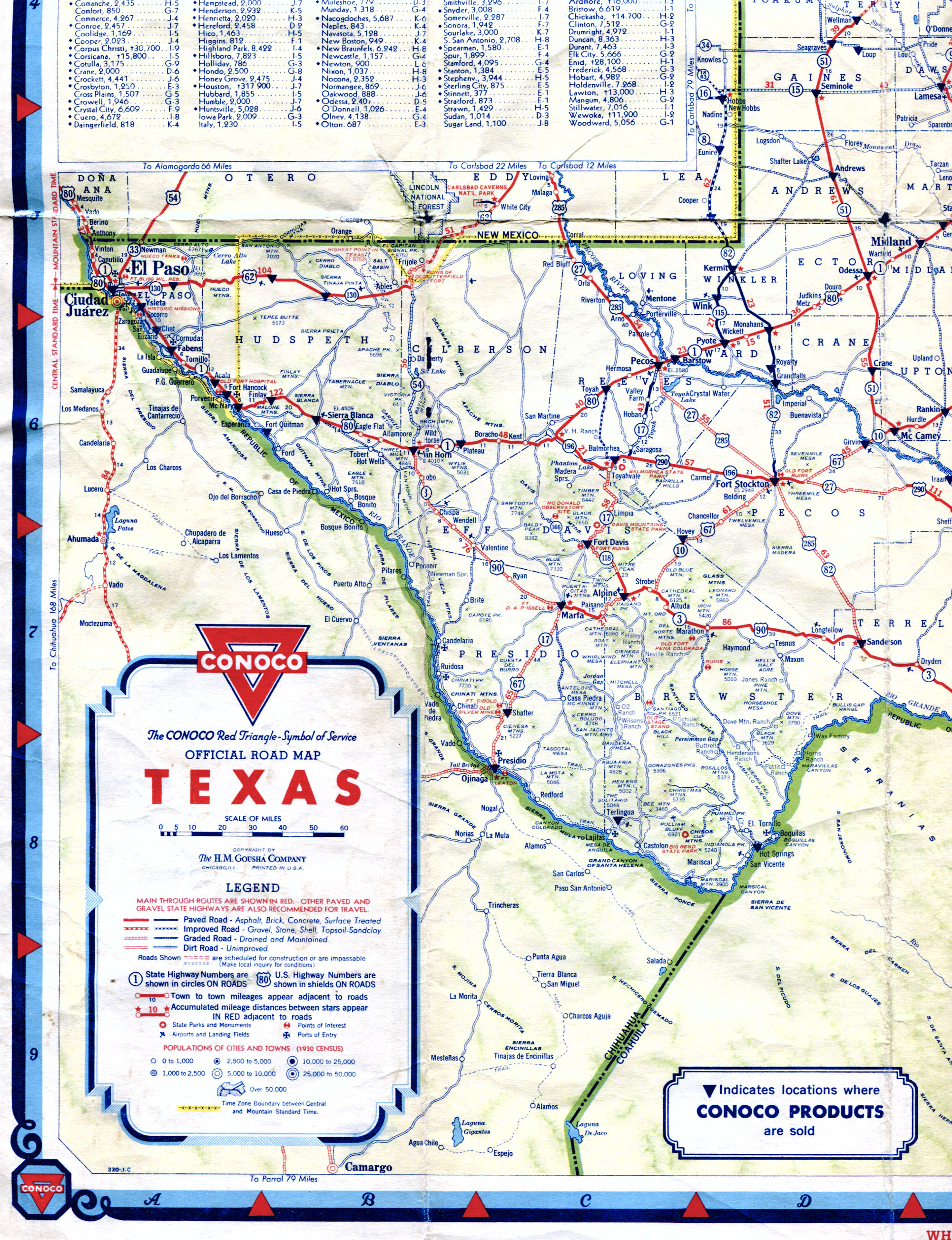 Old Highway Maps Of Texas - Free Texas Highway Map