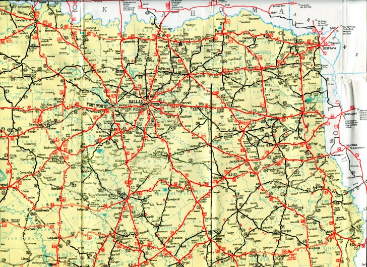 Official Texas Highway Map