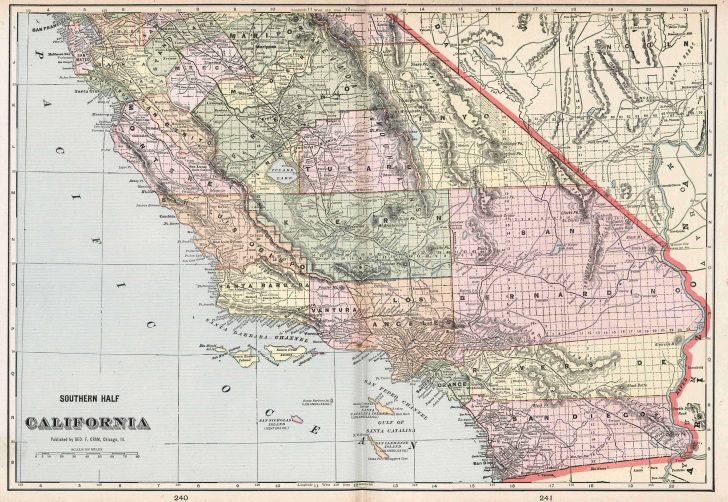 Map Of Southeastern California