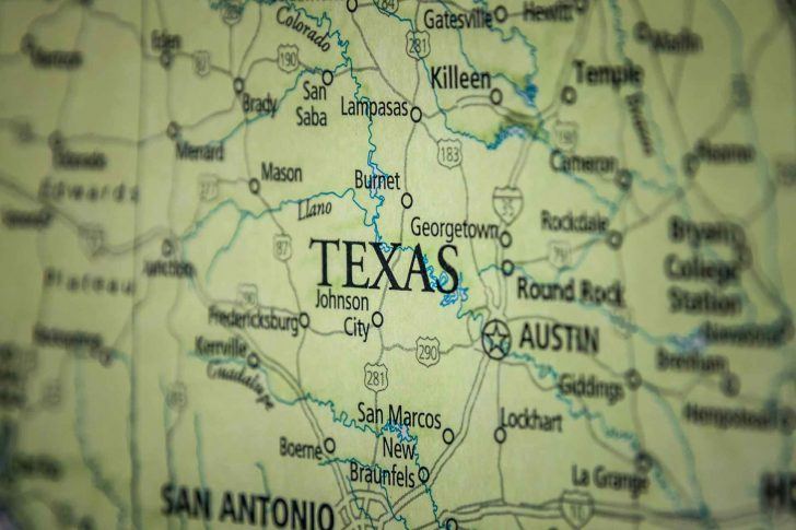 Old Texas Maps For Sale