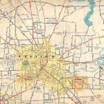 Old Houston Maps | Houston Past   Map Of Northwest Houston Texas