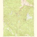Old Topographical Map   Shaver Lake California 1959   Shaver Lake California Map