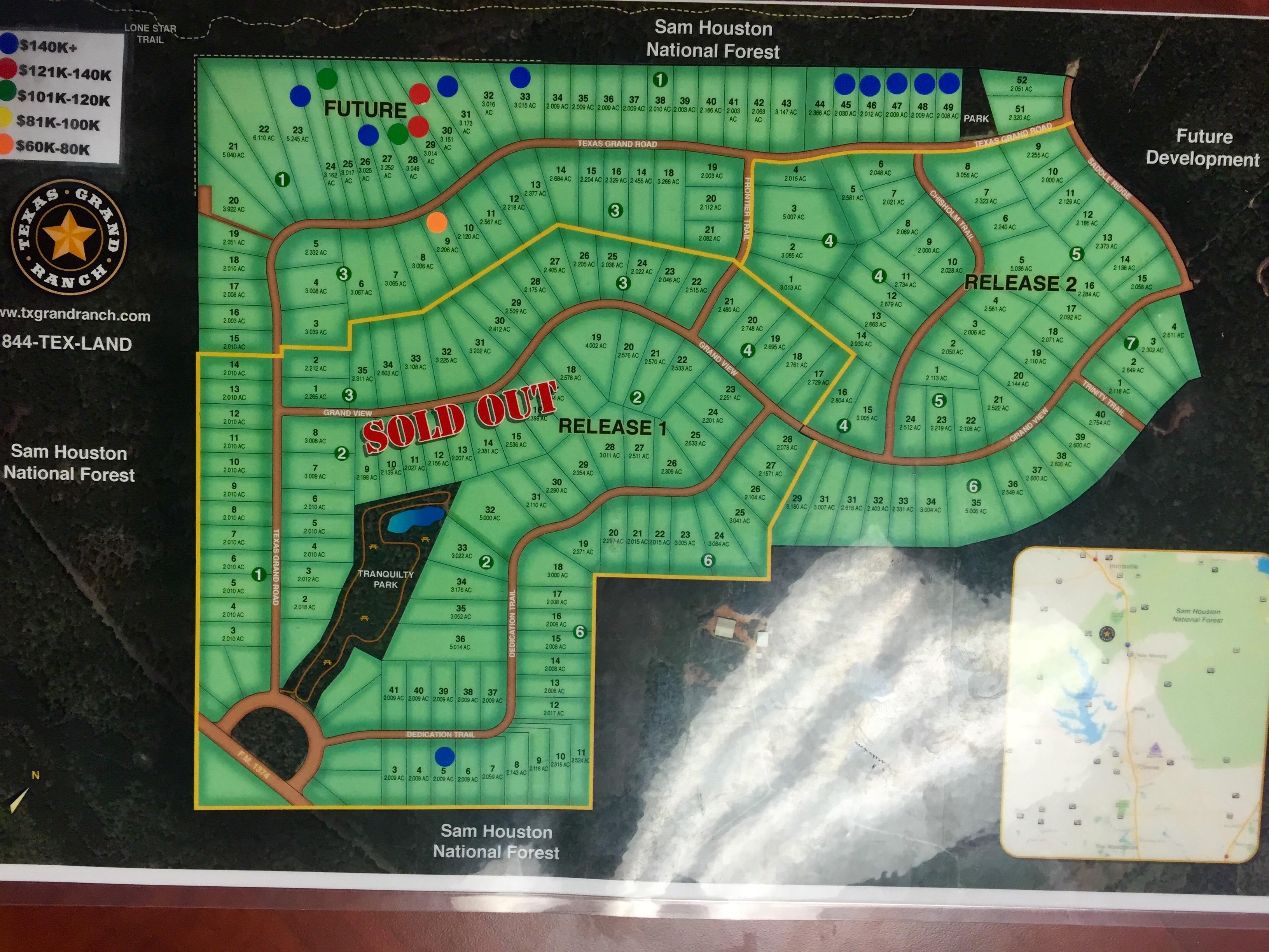 Opulent Ideas Texas Grand Ranch Map Huntsville And Patten Properties - Texas Grand Ranch Map