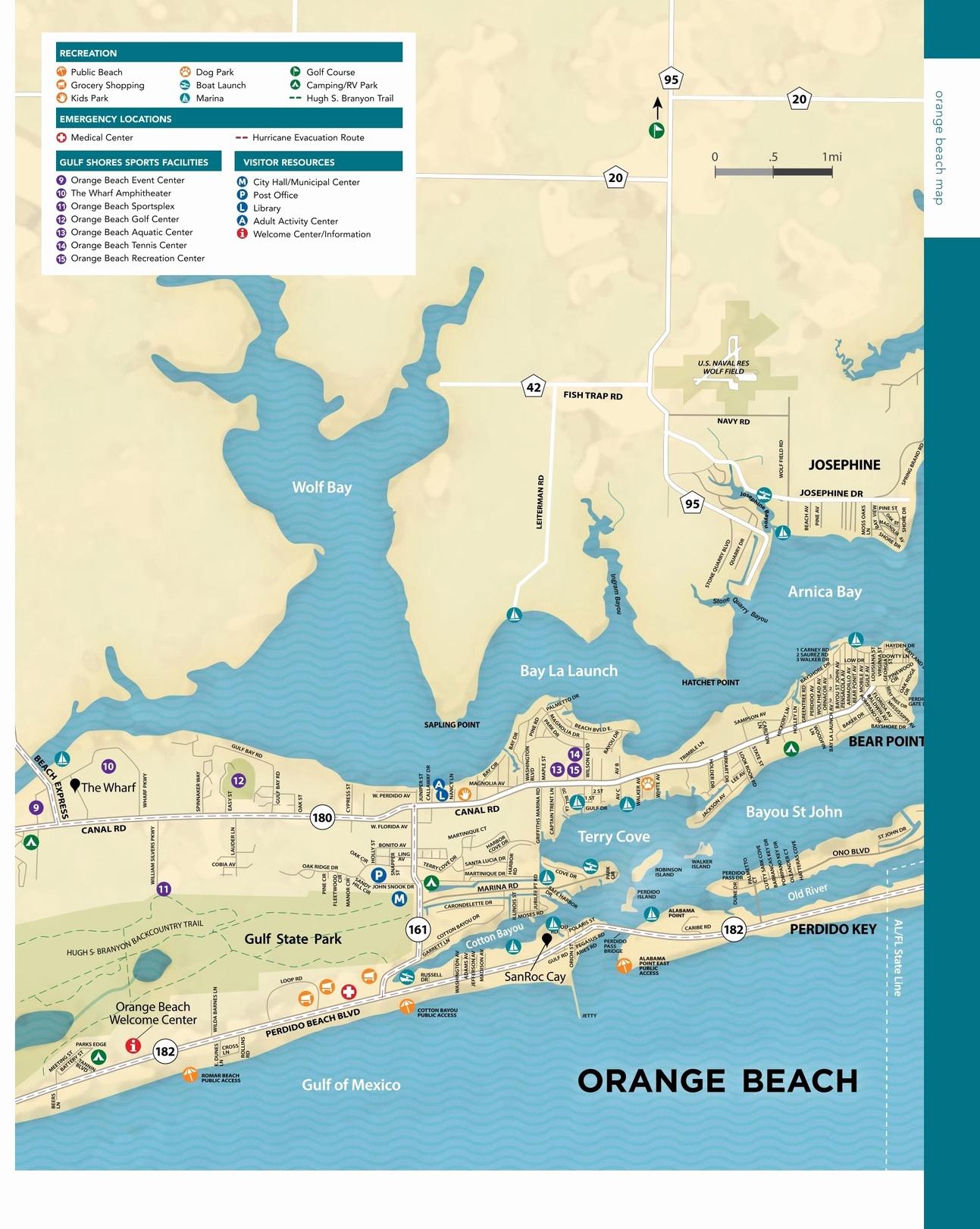 Orange Beach Florida Fresh Orange Beach - Waterpuppettours - Orange Beach Florida Map