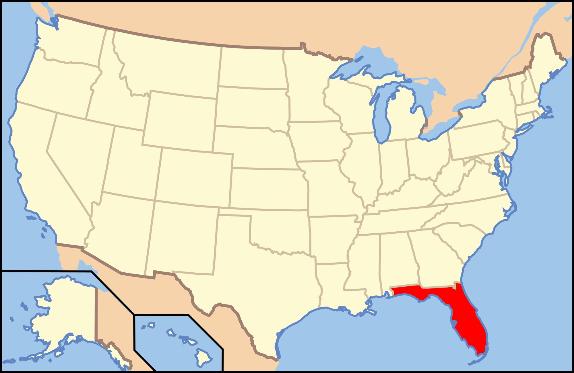 Orange County, Florida - Wikipedia - Winter Park Florida Map