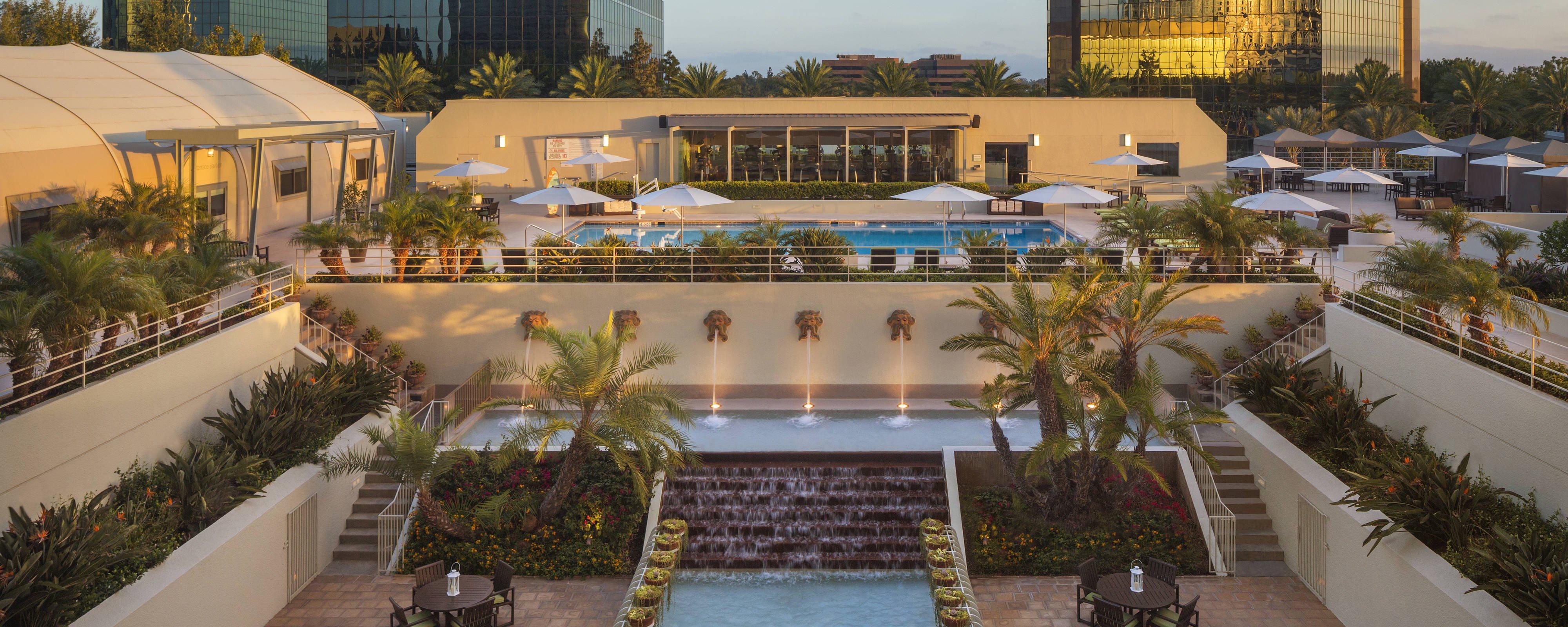 Orange County Hotel - Costa Mesa | The Westin South Coast Plaza - Spg Hotels California Map