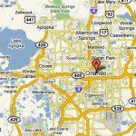 Orlando, Florida – Usa | Travel Featured   Road Map Of Orlando Florida
