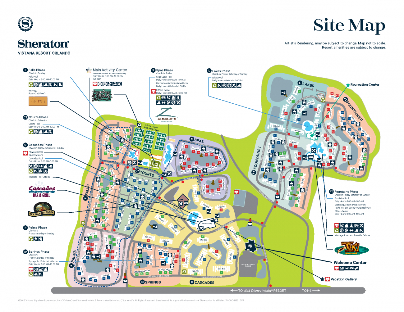 Orlando Florida Villas - Ecosia - Starwood Hotels Florida Map