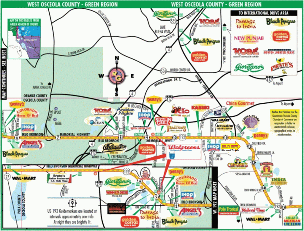 Orlando Maps Htm Florida Amusement Parks Map Large Map With - Florida Theme Parks On A Map