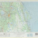 Orlando Topographic Maps, Fl   Usgs Topo Quad 28080A1 At 1:250,000 Scale   Usgs Topographic Maps Florida