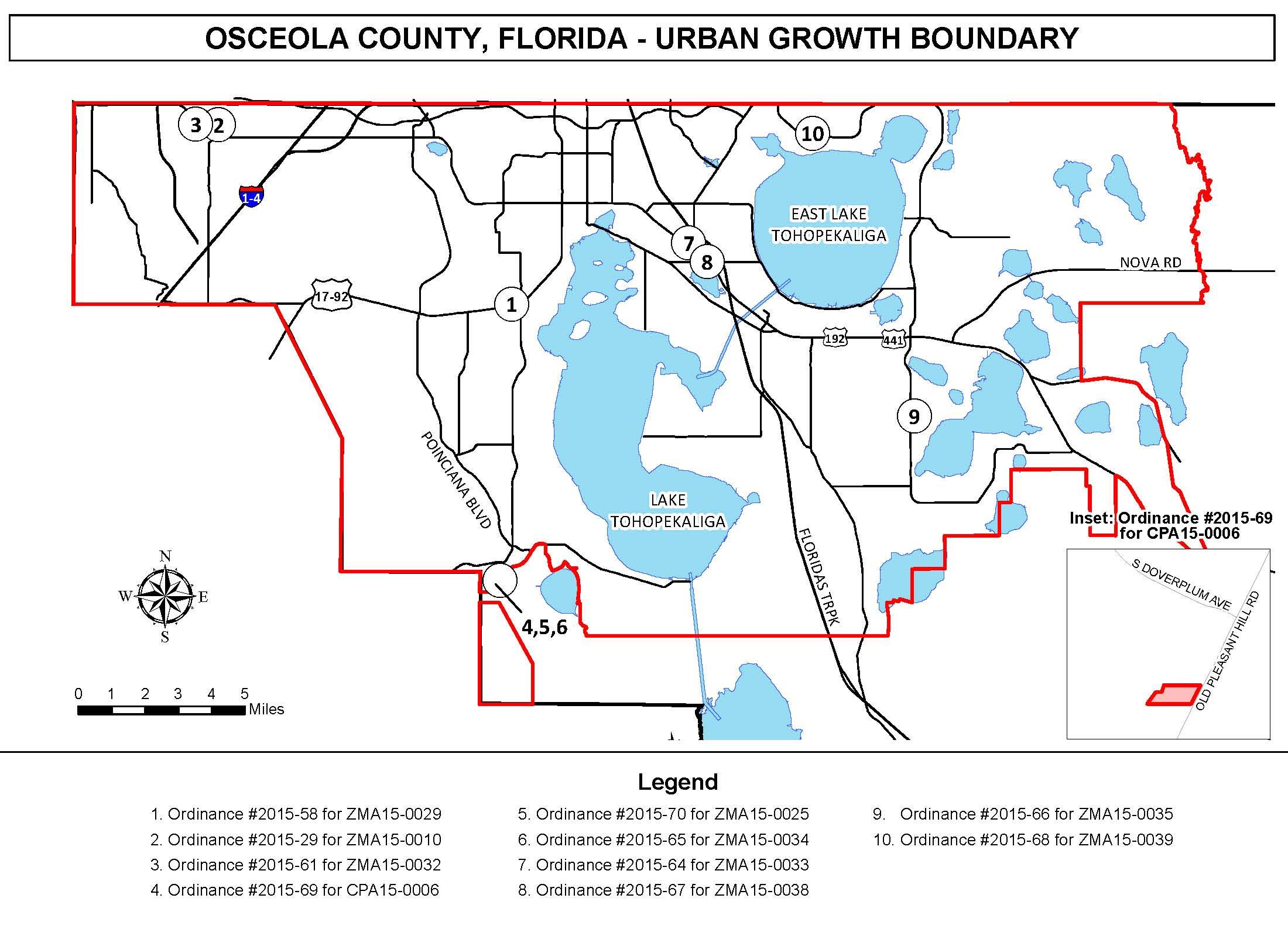 Osceola County | Public Notices - Flood Zone Map Osceola County Florida