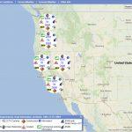 Oss Blank Maps Of Map Of Northern California And Oregon   Klipy   California Oregon Washington Road Map