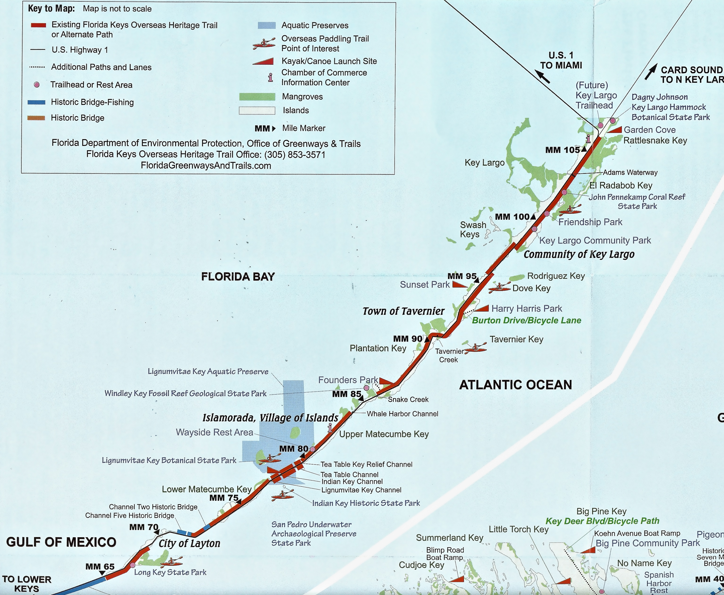 Our Island Home | Come Visit The American Caribbean… | Page 4 - Road Map Florida Keys