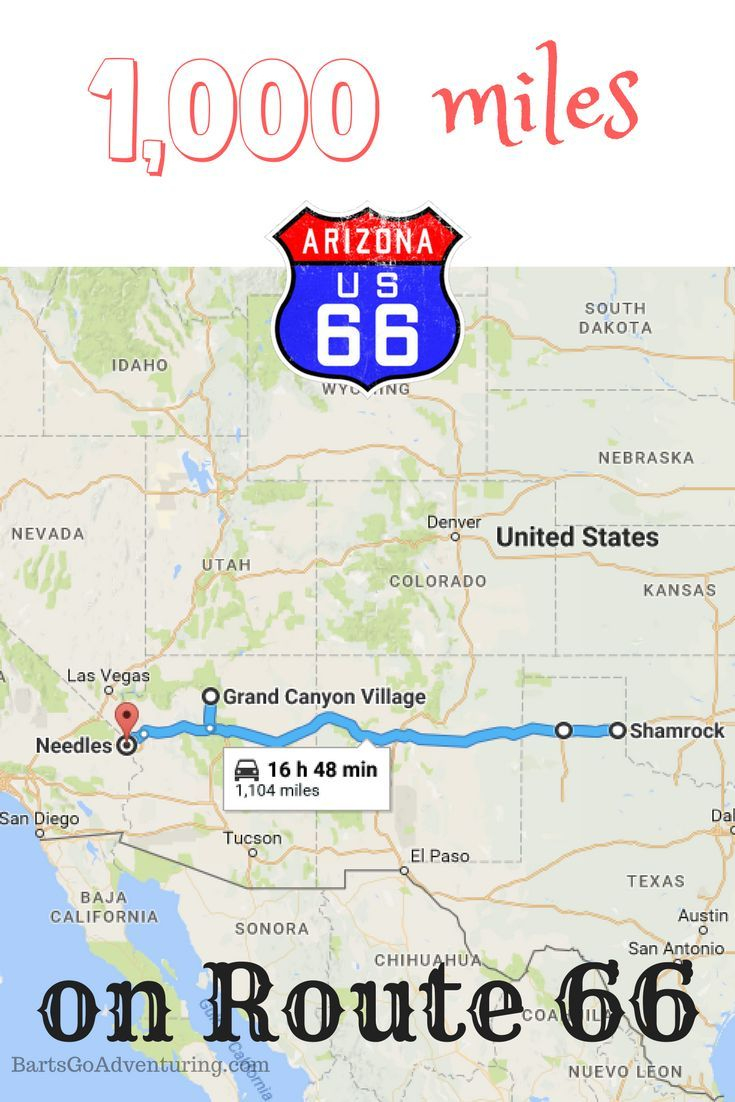 Our Texas To California Road Trip Including 1000 Miles On Route 66 - Road Map From California To Texas
