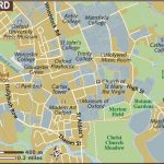 Oxford Maps   Top Tourist Attractions   Free, Printable City Street Map   Printable City Street Maps