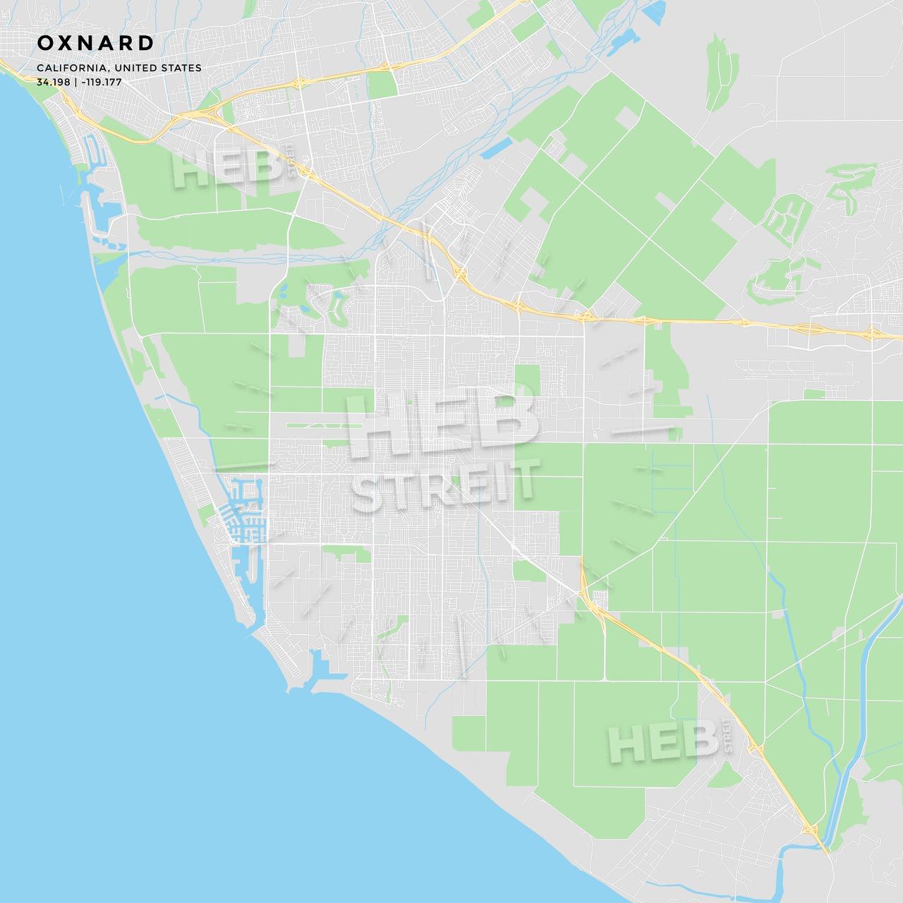 Oxnard California Map - Google Maps Oxnard California