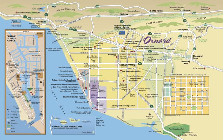 Best Western California Map