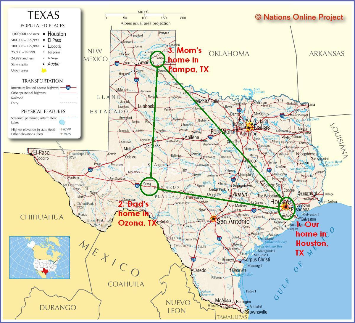 Ozona Texas Map | Business Ideas 2013 - Ozona Texas Map