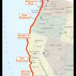 Pacific Coast Highway Road Trip. Seattle To San Diego. Hope To Do   Seattle To California Road Trip Map