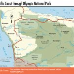 Pacific Coast Route Through Washington State | Road Trip Usa   Washington Oregon California Coast Map