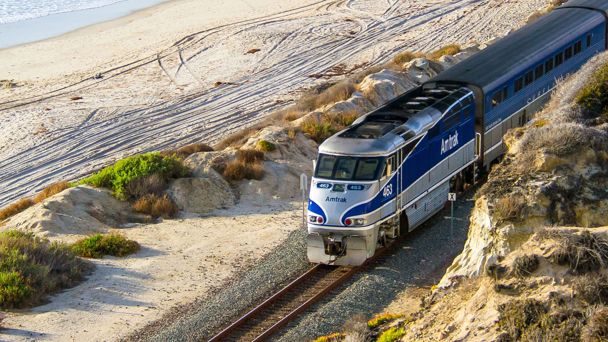 Pacific Surfliner Train | Amtrak - Amtrak California Coast Map
