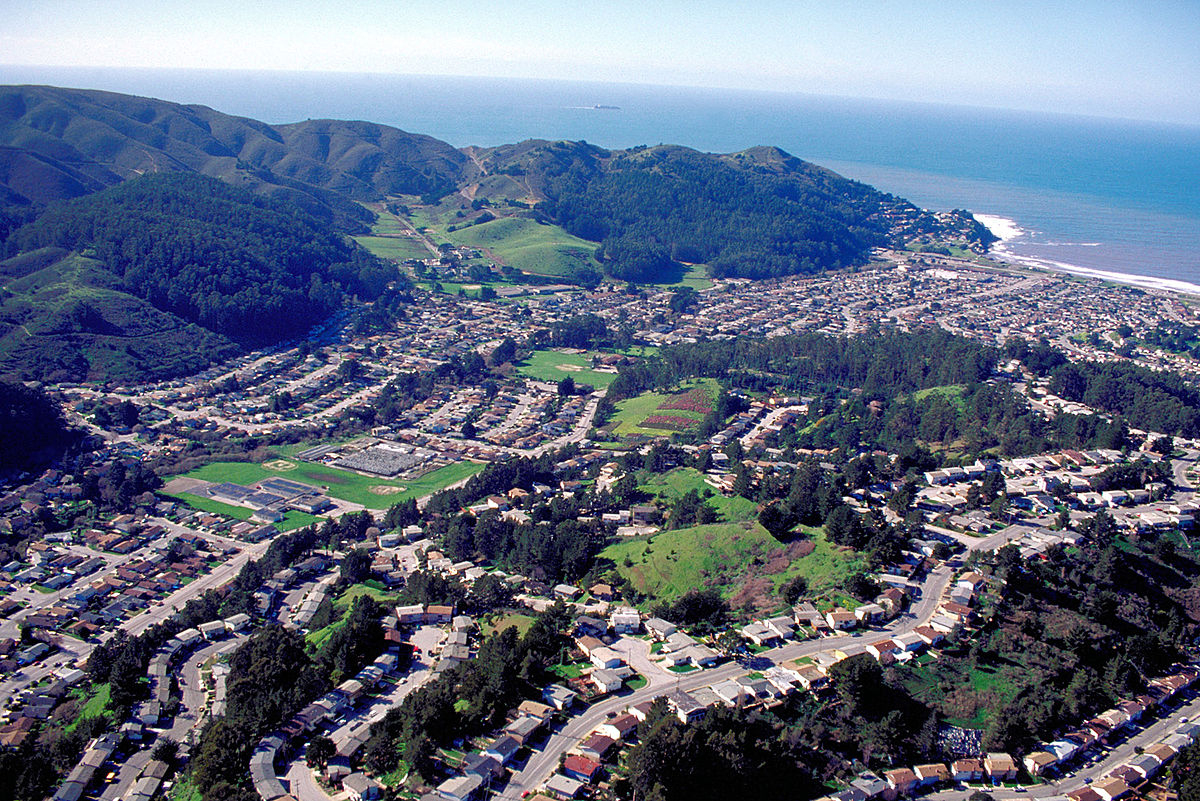 Pacifica, California - Wikipedia - Pacifica California Map