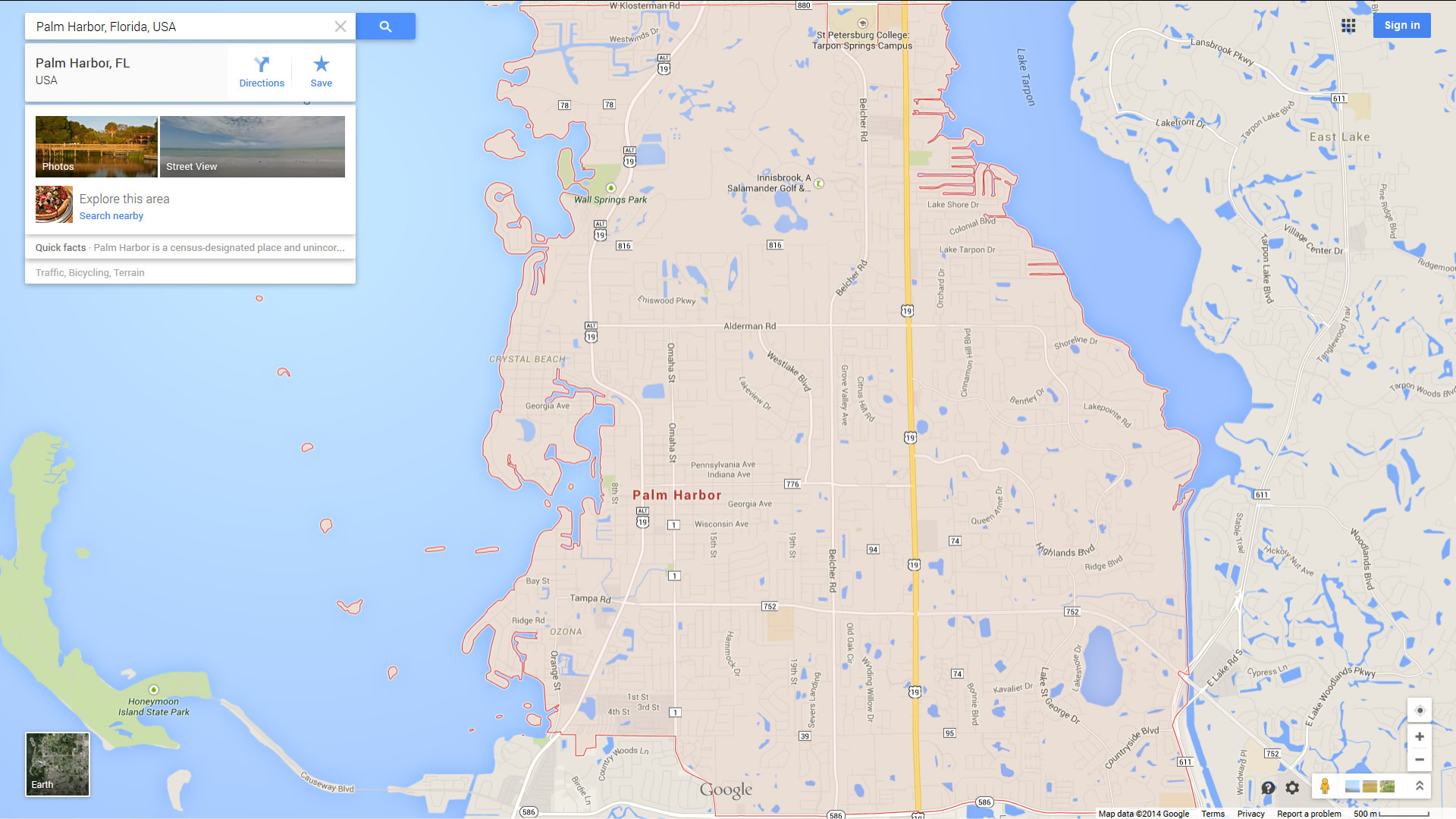 Palm Harbor Florida Map - Where Is Palm Harbor Florida On The Map